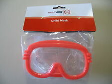 True Living: Child Swimming Mask (orange) for child ages 4+, Brand New & Sealed