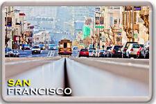 SAN FRANCISCO TRAM FRIDGE MAGNET SOUVENIR IMAN NEVERA