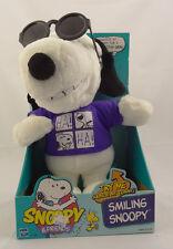 Peanuts Snoopy & Friends ~ Smiling Joe Cool Snoopy ~ Hasbro 1999 61529 ~ New