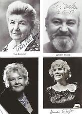 4 Autogramme verstorben Edith Behleit Trude Breitschopf Ebinger Radke Lot 4 xyz