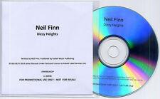 NEIL FINN Dizzy Heights 2014 UK 1-track promo CD