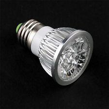 JDR E27 PURE WHITE 4 LED Light Bulb Lamp Spotlight 4W