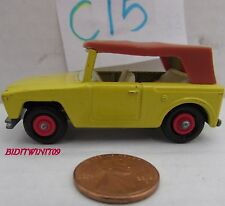 MATCHBOX 1969 LESNEY FIELD CAR #18 MADE IN ENGLAND W+