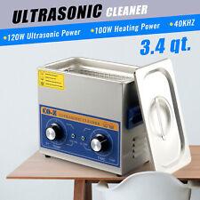 32l 120w Digital Ultrasonic Cleaner Withtimer Amp Heater Ultrasound Clean Machine