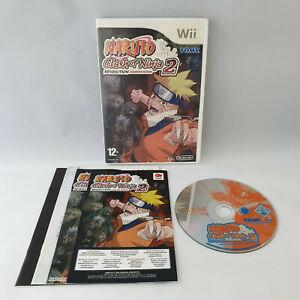 Nintendo Wii - Naruto Clash of Ninja 2 Revolution European Version
