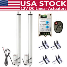 2x 1500n 12v Dc Linear Actuator With Remote Motor Controller Heavy Duty Medical Do