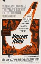 VIOLENT ROAD Movie POSTER 27x40