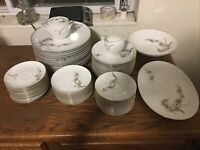 Larchmont China by Sango  Dinnerware Set 65 Piece