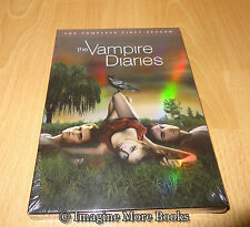 Vampire Diaries: Complete First Season 1 (DVD, 2010, 5-Disc) ~ NEW/SEALED