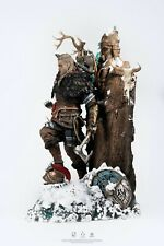 Ubisoft's Assassins Creed Valhalla Animus Evior statue Pre-order