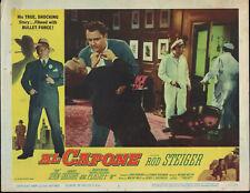 AL CAPONE original lobby card ROD STEIGER 11X14 1959 movie poster