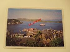 The Isle of Mull Ferry, Oban Bay for Mull Oban, Argyll, Postcard, Boat