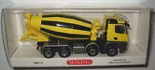 Wiking 068149 MB Arocs 4-achs Liebherr Fahrmischer gelb/schwarz 1:87 HO