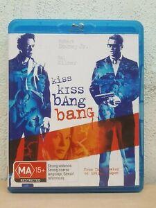 Kiss Kiss Bang Bang (Blu-ray, 2006) BLU RAY - Robert Downey Jr - REGION B AUST