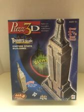 Puzz 3D Empire State Building 30-in & Met Life Tower New York GLOWS New puzzle