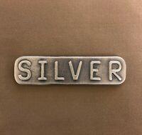4 oz 999 Poured Silver Bullion Bar - Yeager's - YPS - 2020 Silver Slacker
