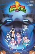 MIGHTY MORPHIN POWER RANGERS #15 REGULAR COVER
