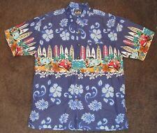 Chevron Cars Hawaiian Michael Palmer Clubhouse Button Small Surfboards Shirt