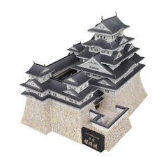 le japon Architecture Puzzle Jigsaw Cadeau Jouets Papier 3D Modèle À faire soi-même Matsuyama Castle