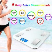 Smart Scale Bluetooth Body Fat Monitor Composition Weight LCD Electronic Scales