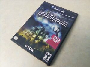 THE HAUNTED MANSION, NTSC-US, COMPLETE, NINTENDO GAMECUBE GAME