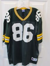 Vintage ANTONIO FREEMAN GREEN BAY PACKERS jersey Champion men's size 48 NFL VGC