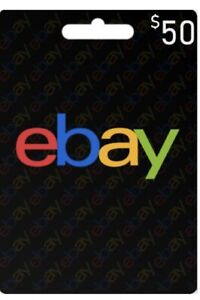 ++Ebay Gift Card 50$++
