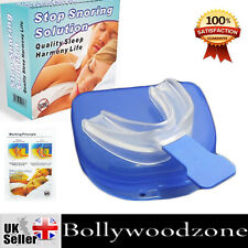 NHS  ANTI STOP SNORING SOLUTION MOUTHPIECE DEVICE - Day or Night Sleep Aid