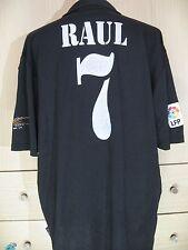 RAUL GONZALEZ REAL MADRID CENTENARY 2002 SPAIN FOOTBALL SHIRT SOCCER JERSEY XL