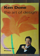 Ken Done - The Art of Design - 1994 - Signed by Ken Done - 1st Softcover Edition