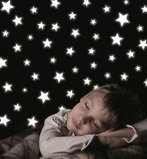 Leuchtsticker Leuchtsterne Wandsticker Sternenhimmel Wand Deko