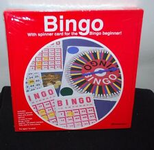 (NEW SEALED) PRESSMAN SPINNER BINGO SET CARDS SPINNERS MARKERS BOARDS