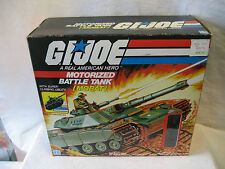 1982 vintage GI Joe MOBAT Motorized Battle Tank box 80s G.I. Hasbro toy Steeler