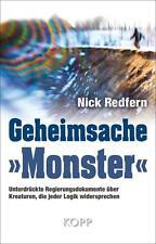 Geheimsache »Monster« von Nick Redfern (2014, Gebundene Ausgabe)
