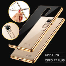 Ultra Slim Crystal Shinning TPU Gel case cover For Oppo R7S R9 F1S R9S A57 A77