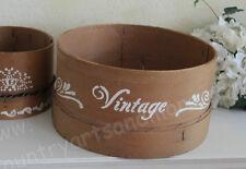 Frankreich, altes Mehlsieb, Holzrahmen, JDL,Vintage Shabby Antique, Ø: 30 cm