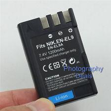 1200mAh Replacement For Nikon EN-EL9a Battery For Nikon D5000 D3000 D40 D40x D60