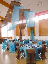 Tenture intissée 70cmx8m, décoration mariage, plusieurs coloris