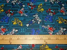 1 yard  Transformers Galaxy Fabric