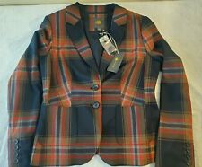 Outback Red The Limited Womens Plaid Size Med Riding Blazer