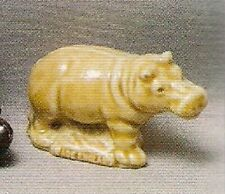 Wade Hippo Smaller Size Whimsies Set 4, 1973 With Orginal Picture Box