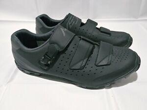 Men's Shimano ME3 Cycling Shoe Black/Gray Size US Size 11.2 EU 46