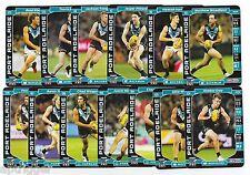 2017 Teamcoach PORT ADELAIDE Team Set (13 Cards)