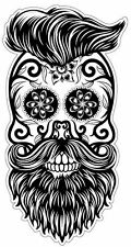 Sugar Skull #5 hipster Sticker Decal DAY OF THE DEAD ipad computer CAR DECAL
