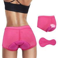 3D Padded Cycling Shorts Bike Underwear Bicycle MTB Pants Soft Gel Pad Men Women