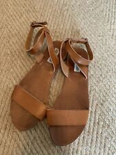 Steve Madden Womens Sandals 8.5M Leathers Straps