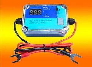 Batterie Aktivator, Batteriepulser, Desulfator- Refresher 12Volt, 24Volt, 48Volt