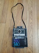 Vintage 1960s Polaroid 340 Automatic Instant Film Folding Land Camera Untested