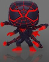 Miles Morales Programmable Matter Suit GLOW 775 Funko Pop Vinyl New in Box