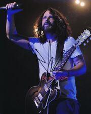 "Chris Cornell of Soundgarden & Audioslave SIGNED Reprint 8x10"" Photo #3 RP"